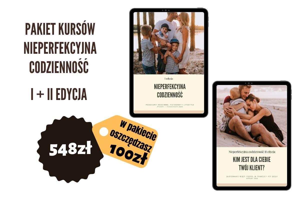kurs fotograficzny online - nieperfekcyjna codzienność - pakiet